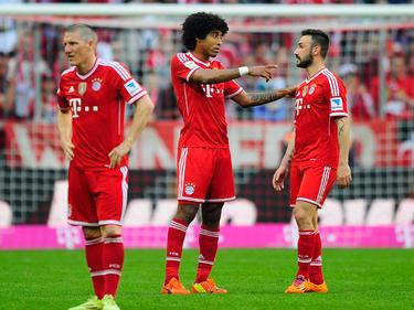 Kandidat beim HSV: Diego Contento (r.), früher beim FC Bayern aktiv