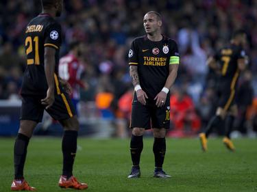 Wesley Sneijder bei einem Einsatz für Galatasaray