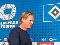 Gisdol wurde am Montag als neuer HSV-Coach vorgestellt