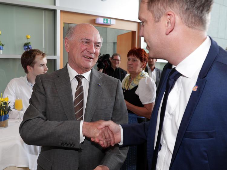 SKN-Generalmanager Andreas Blumauer sieht kein Problem, dass Erwin Pröll als LH NÖ abtritt