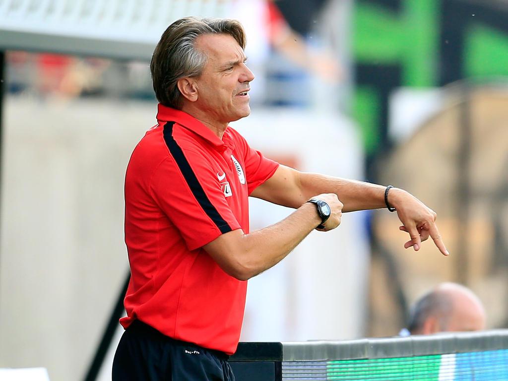 Horst Steffen wird neuer Trainer beim Chemnitzer FC