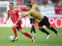 Ribéry und Co. waren für den OFC kaum zu halten