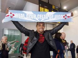 Welliton bei seiner Ankunft in Spanien