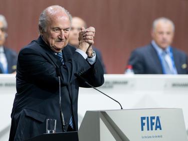 Joseph S. Blatter bleibt FIFA-Präsident