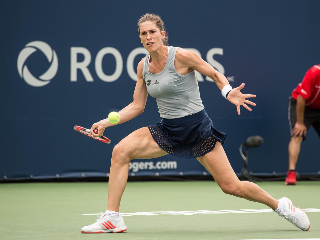 Andrea Petković gewinnt ihr Erstrundenmatch in Montréal