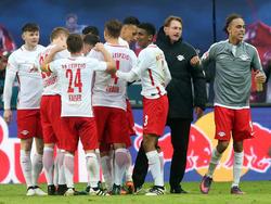 Leipzig kommt über den Teamgeist zum Erfolg