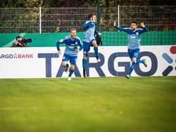 Große Freude beim FC Astoria Walldorf, Trauer beim SVD