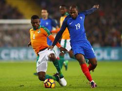 Frankreich und die Elfenbeinküste trennten sich torlos