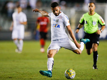 Mega-Talent Thiago Maia in Aktion für den FC Santos