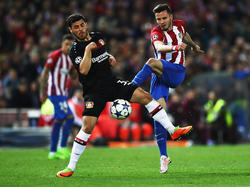 Kevin Volland und die Werkself sind gegen Atlético Madrid ausgeschieden
