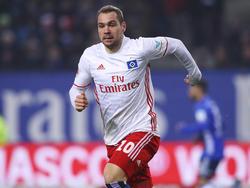 Pierre-Michel Lassoga war im Testspiel für den Hamburger SV erfolgreich