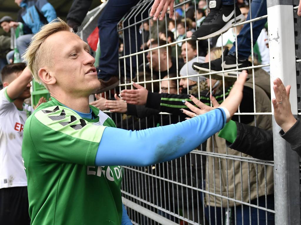 Sascha Burchert hat seinen Vertrag in Fürth verlängert