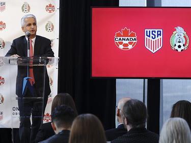 Gemeinsame WM-Bewerbung von Kanada, USA und Mexiko (Bildquelle: twitter.com/ussoccer)