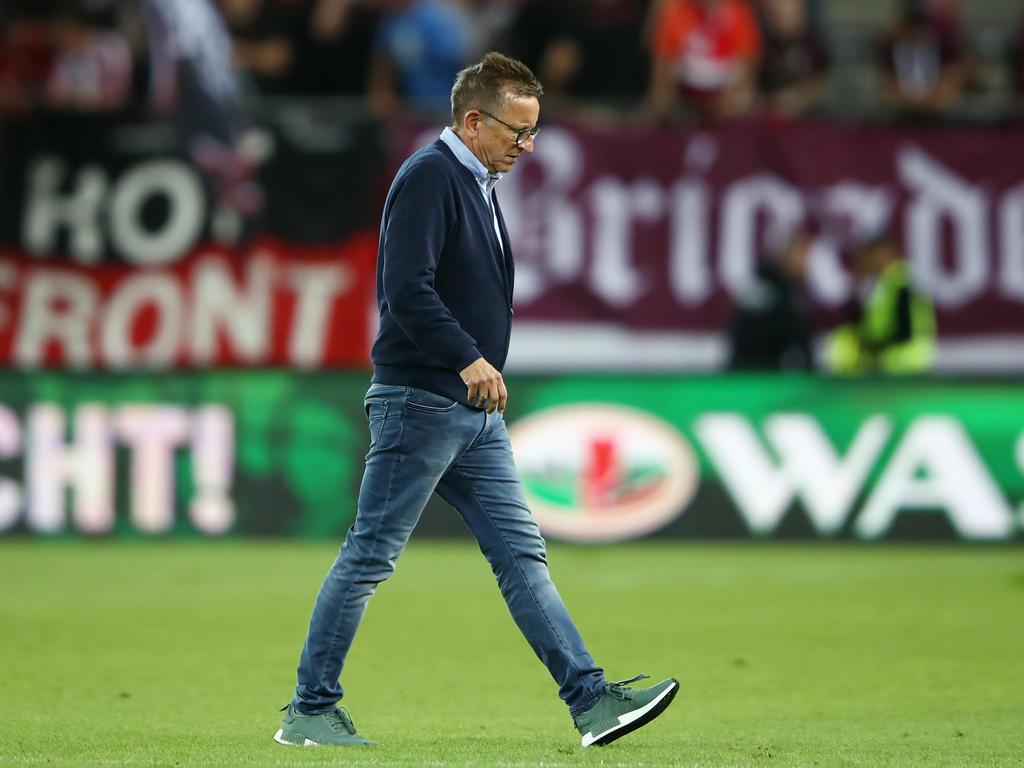 FC Kaiserslautern trennte sich von Trainer Norbert Meier