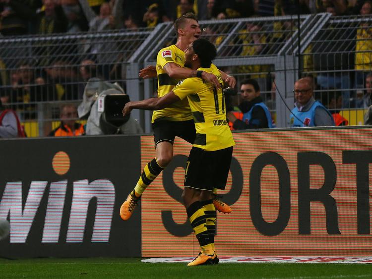 Die Dortmunder hatten mit den Gladbachern ihren Spaß