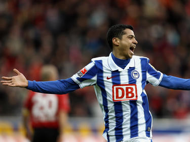 Dürfte in zwei Spielzeiten insgesamt zehn Treffer im Trikot von Hertha BSC bejubeln: Cícero