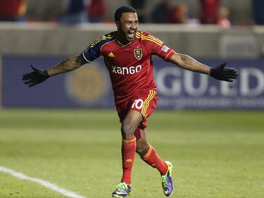 Robbie Findley erzielte das 1:0 für Real Salt Lake gegen Portland Timbers