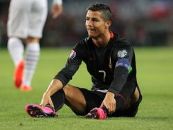 Cristiano Ronaldo bereitet dem Mannschaftsarzt Sorgen