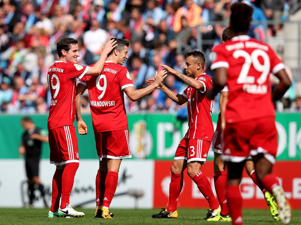 Der FC Bayern zeigte im Pokal eine starke Leistung