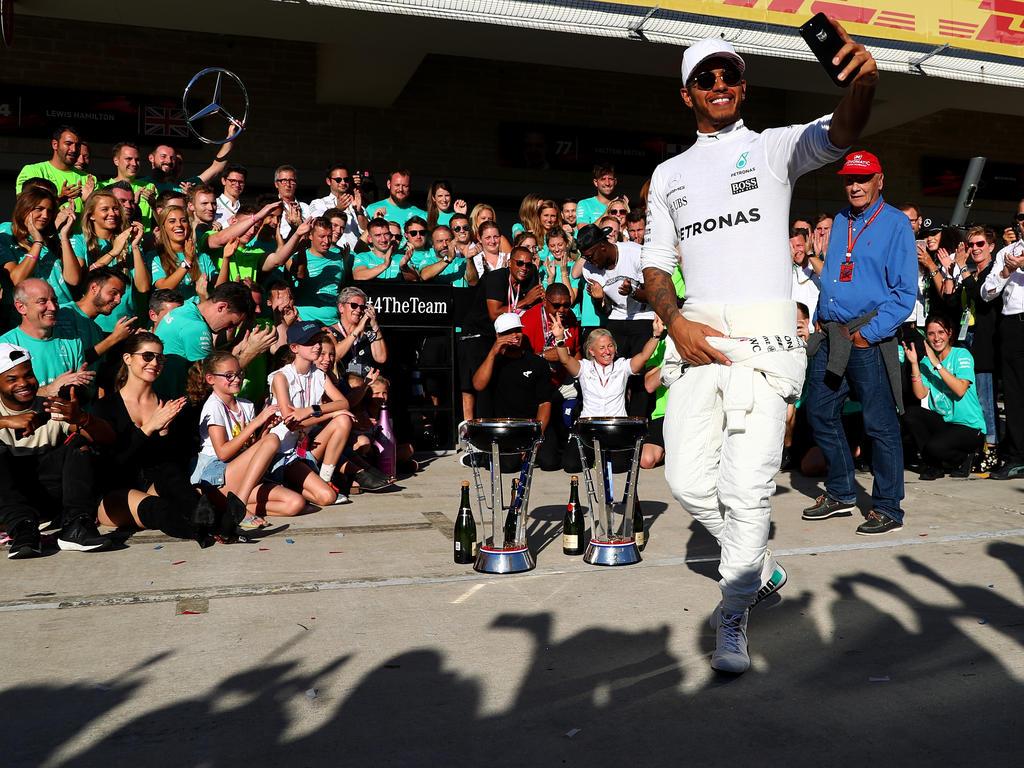 Lewis Hamilton hat in Suzuka für die Vorentscheidung im WM-Kampf gesorgt
