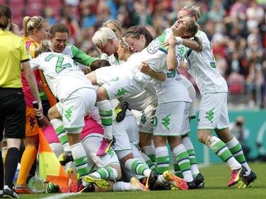 Der VfL Wolfsburg holt erneut den DFB-Pokal der Frauen