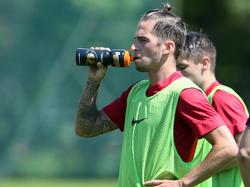 Christoph Knasmüllner bereitet sich mit der Admira schon auf die nächste Saison vor