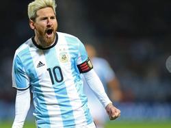 Lionel Messi sicherte Argentinien drei Punkte