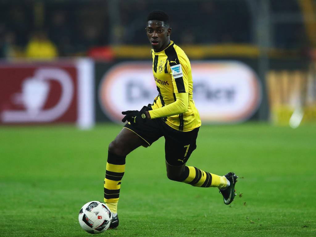 Ousmane Dembélé wechselte im Sommer 2016 zum BVB