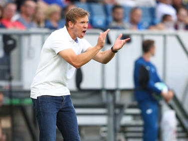 Julian Nagelsmann will den Sieg in Liverpool