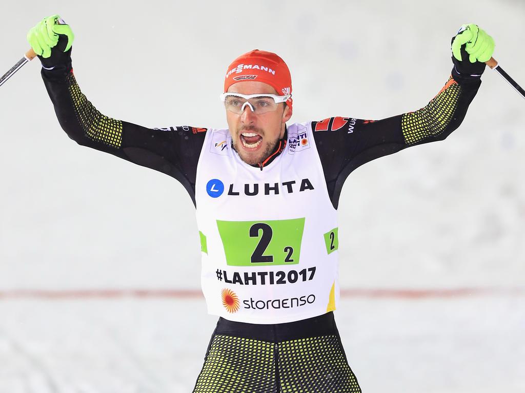 Johannes Rydzek ist alter und neuer Deutscher Meister