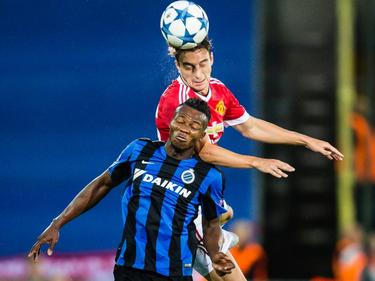 Boli Bolingoli-Mbombo im Dress des Club Brugge