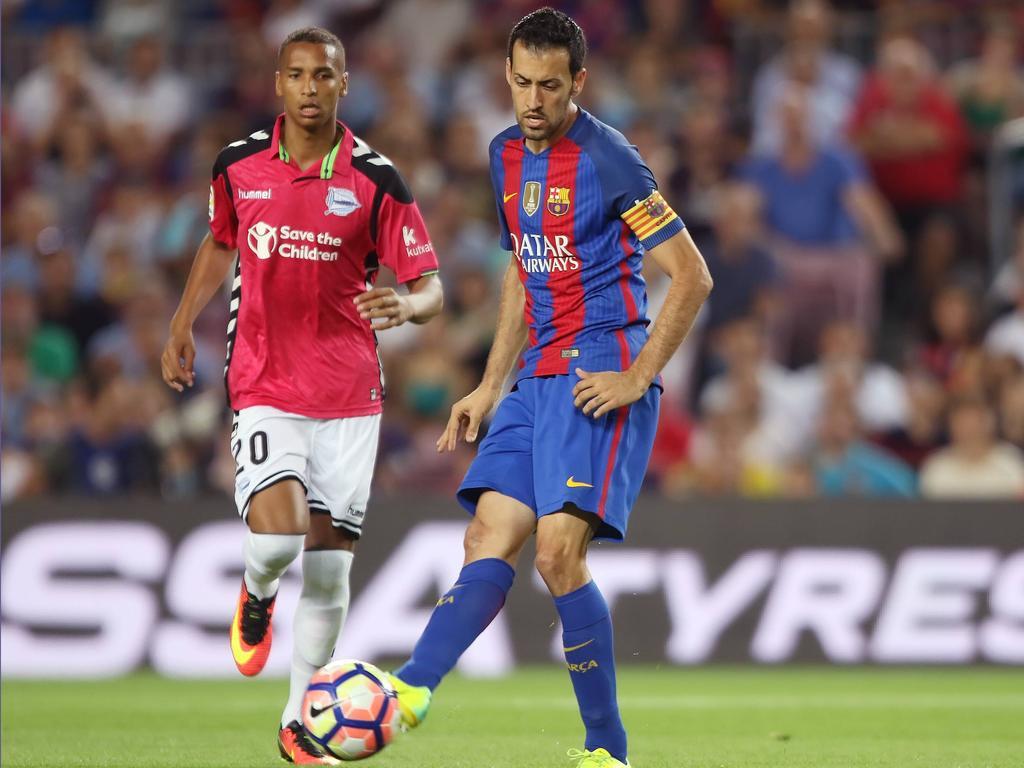 Busquets jugará con el Barcelona contra el Alavés en la final de la Copa. (Foto: Getty)