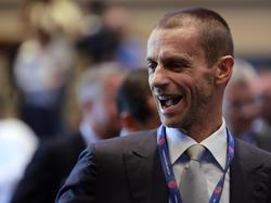 Aleksander Čeferin wurde zum neuen UEFA-Präsidenten gewählt