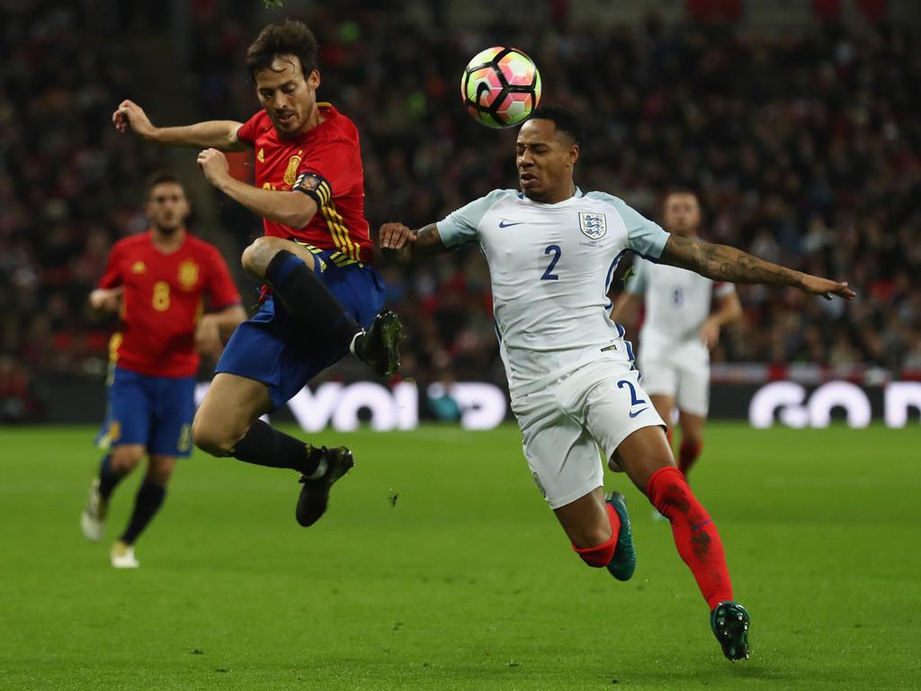 Freundschaft » News » England verspielt 2:0-Führung gegen Spanien