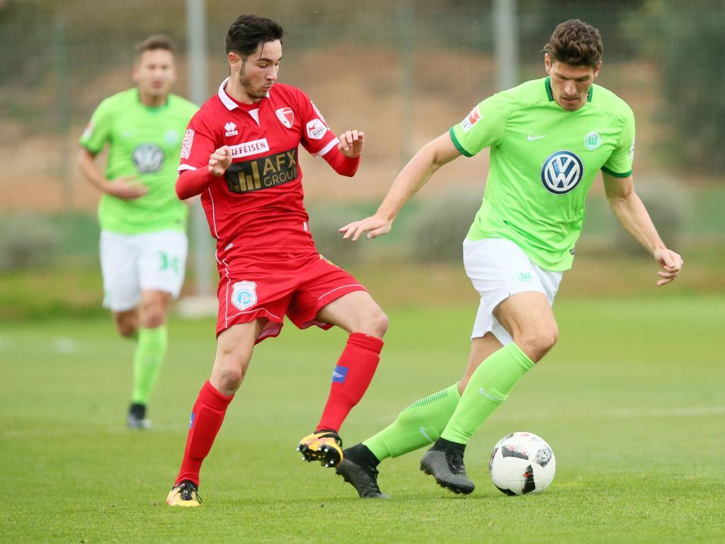 Mario Gomez traf für den VfL Wolfsburg