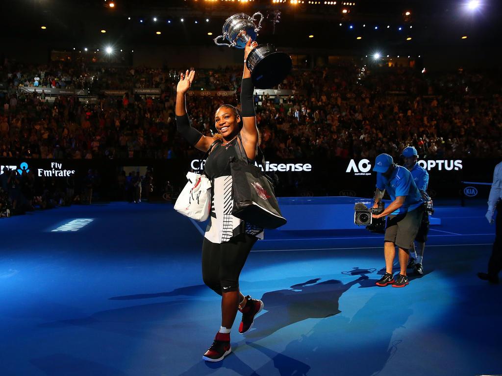 Platz 15 (-): Serena Williams - 2810 Punkte
