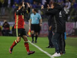 Fällt für die Nationalmannschaft aus: Eden Hazard (l.)