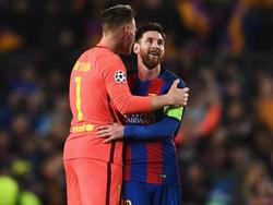 Die Helden des Clásico: Marc-André ter Stegen und Lionel Messi