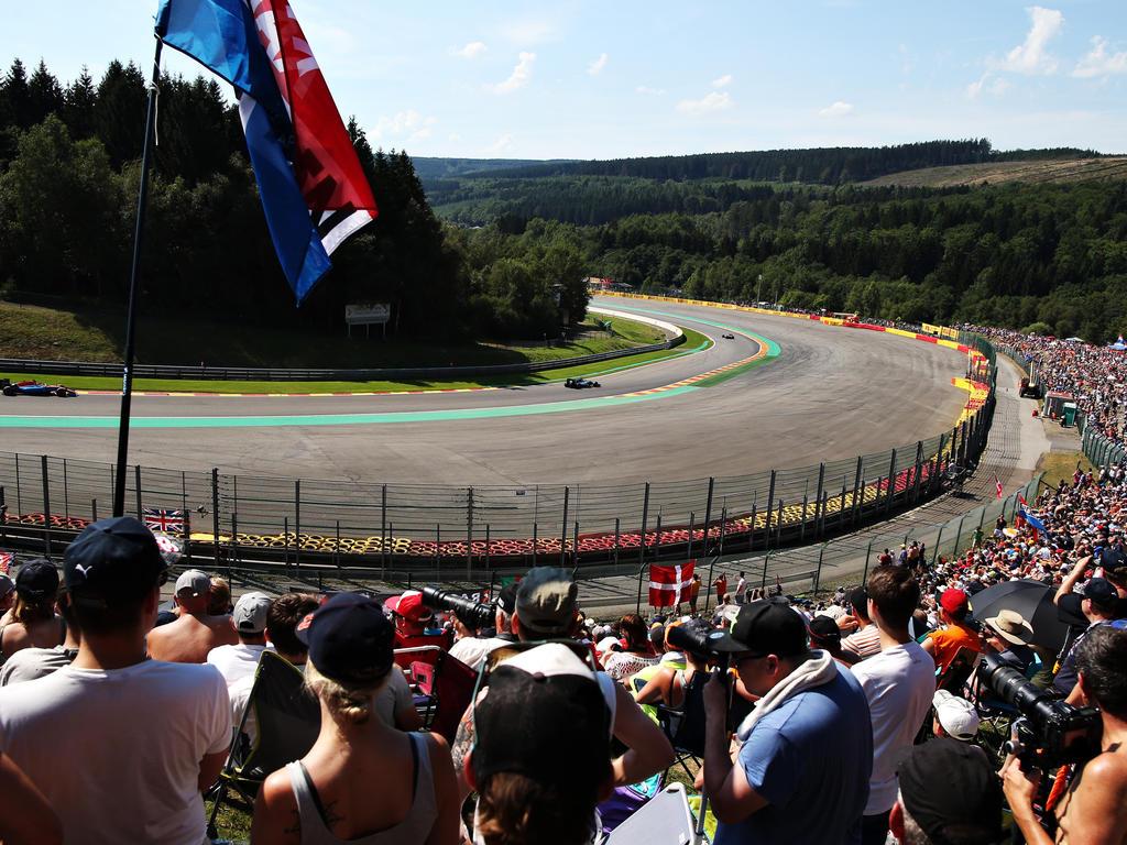 Circuit de Spa-Francorchamps, Belgien