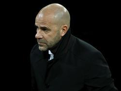 Peter Bosz dementierte eine angebliche Krisensitzung in Dortmund