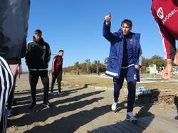 Nürnbergs Trainer René Weiler möchte mit dem Club Tabellendritter bleiben