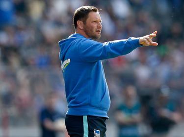 Pál Dárdai und seine Hertha gewannen gegen Braunschweig