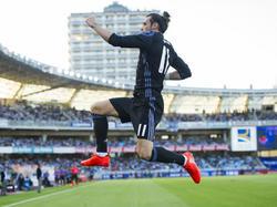Gareth Bale traf für Real doppelt
