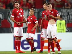 Die Mainzer waren nach dem 1:1 nur bedingt zufrieden