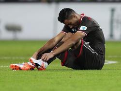 Aziz Bouhaddouz könnte St. Pauli in Sandhausen fehlen