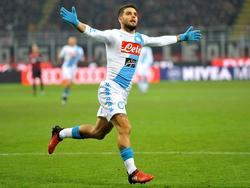 Lorenzo Insigne traf zum frühen 1:0 für Napoli