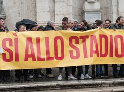 Der AS Rom bekommt ein neues Stadion - auch wenn nicht alle Fans glücklich darüber sind