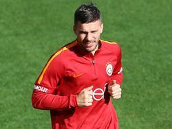 Lukas Podolski könnte Galatasaray Istanbul schon bald verlassen