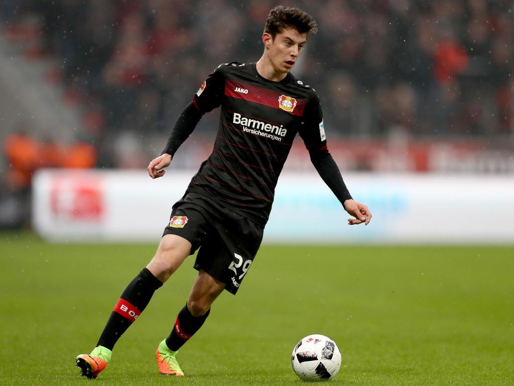 Kai Havertz ist erst 17 Jahre alt und hat schon 12 Bundesliga-Spiele für Bayer Leverkusen bestritten