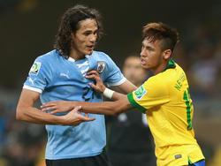 Cavani y Neymar están considerados unos de los mejores delanteros del mundo. (Foto: Getty)